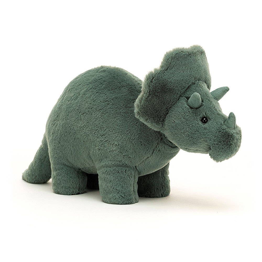Jellycat Jellycat Fossily Triceratops - 7 Inches