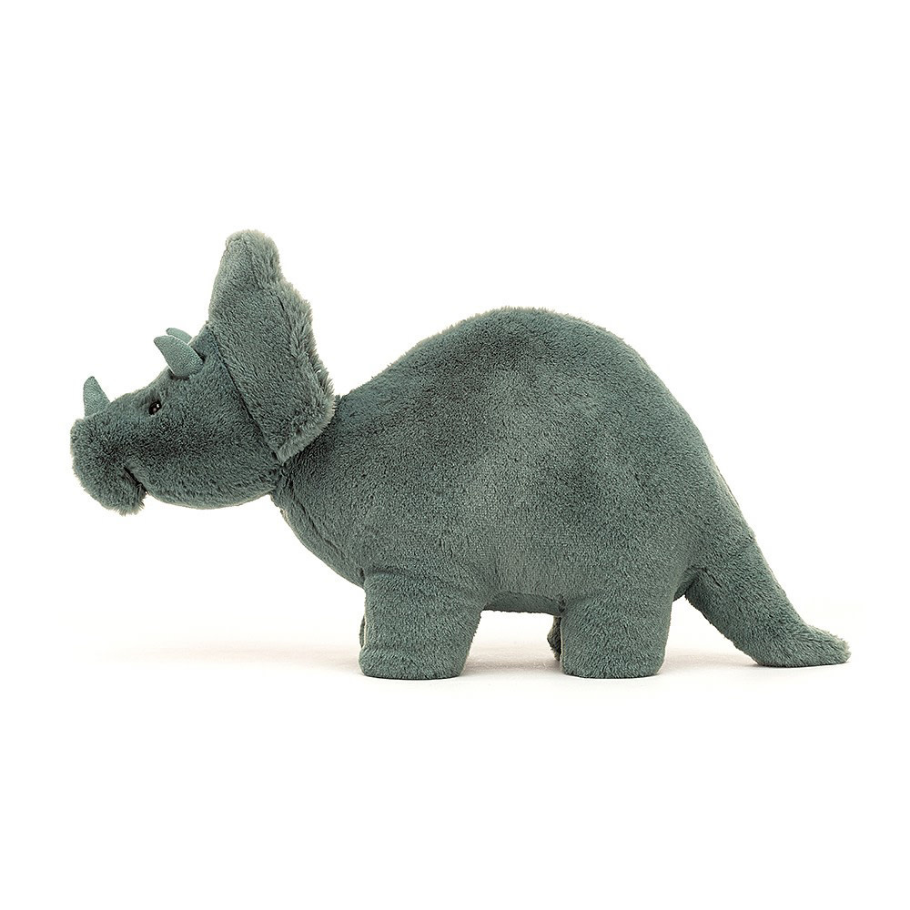 Jellycat Fossily Triceratops - 7 Inches