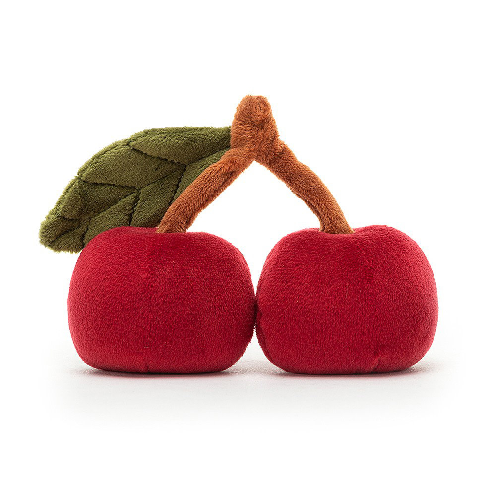 Jellycat Fabulous Fruit Cherry - 4 Inches