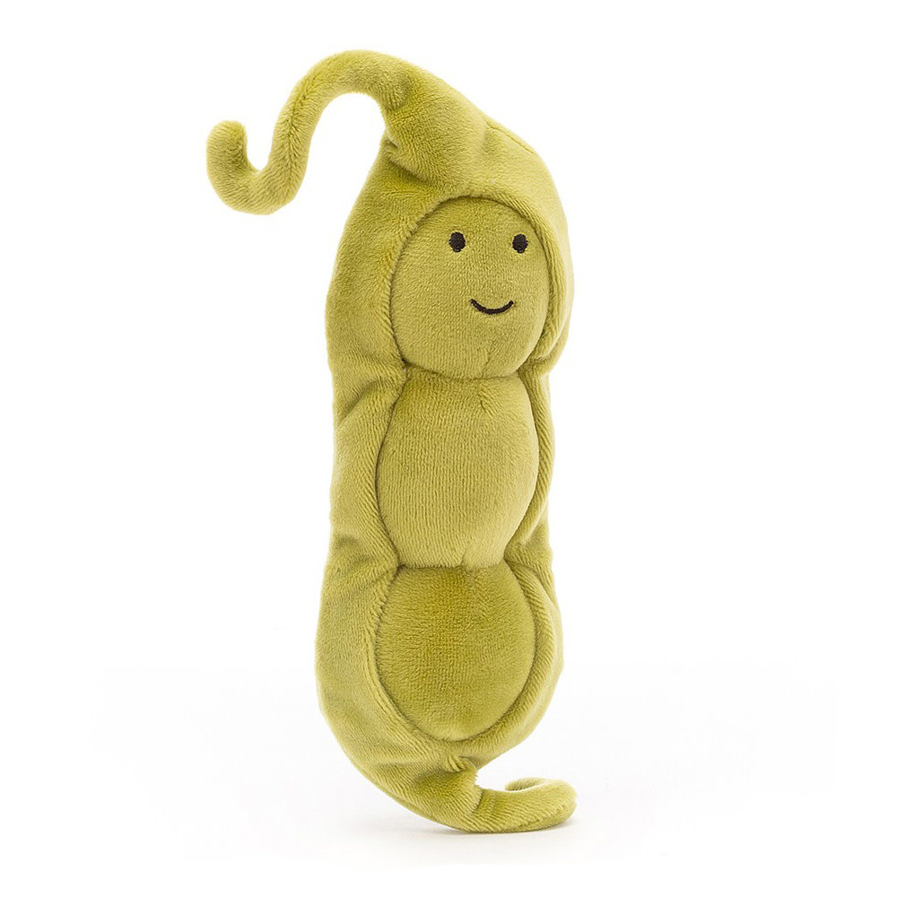 Jellycat Vivacious Vegetable Pea - 7 Inches