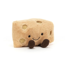Jellycat Jellycat Amuseable Swiss Cheese - 6 Inches