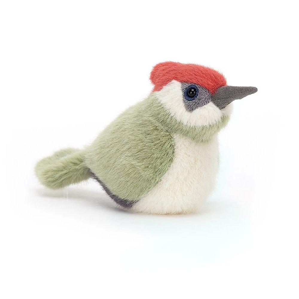 Jellycat Birdling Woodpecker - 4 Inches