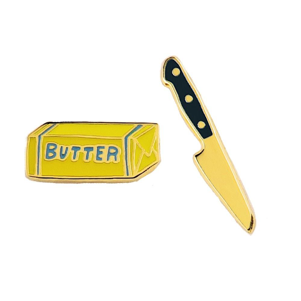 Yellow Owl Workshop Earrings - Butter Knife