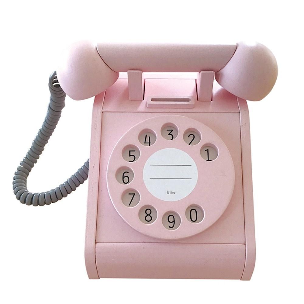 Kiko+ & gg* Kiko+ & gg* Toy Telephone - Pink