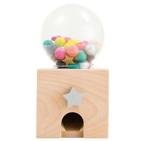 Kiko+ & gg* Kiko+ & gg* Gatcha Gatcha Wooden Gumball Dispenser