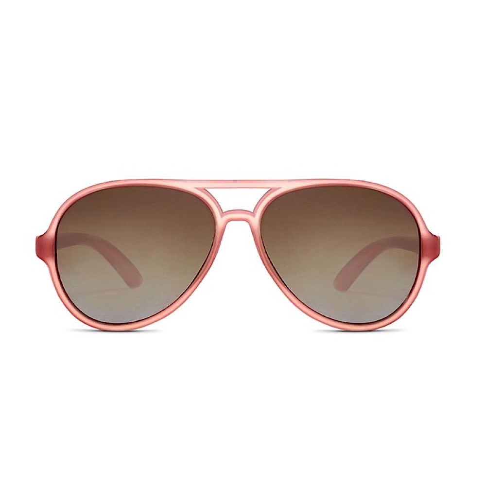 Hipsterkid Golds Aviator Sunglasses - Rose