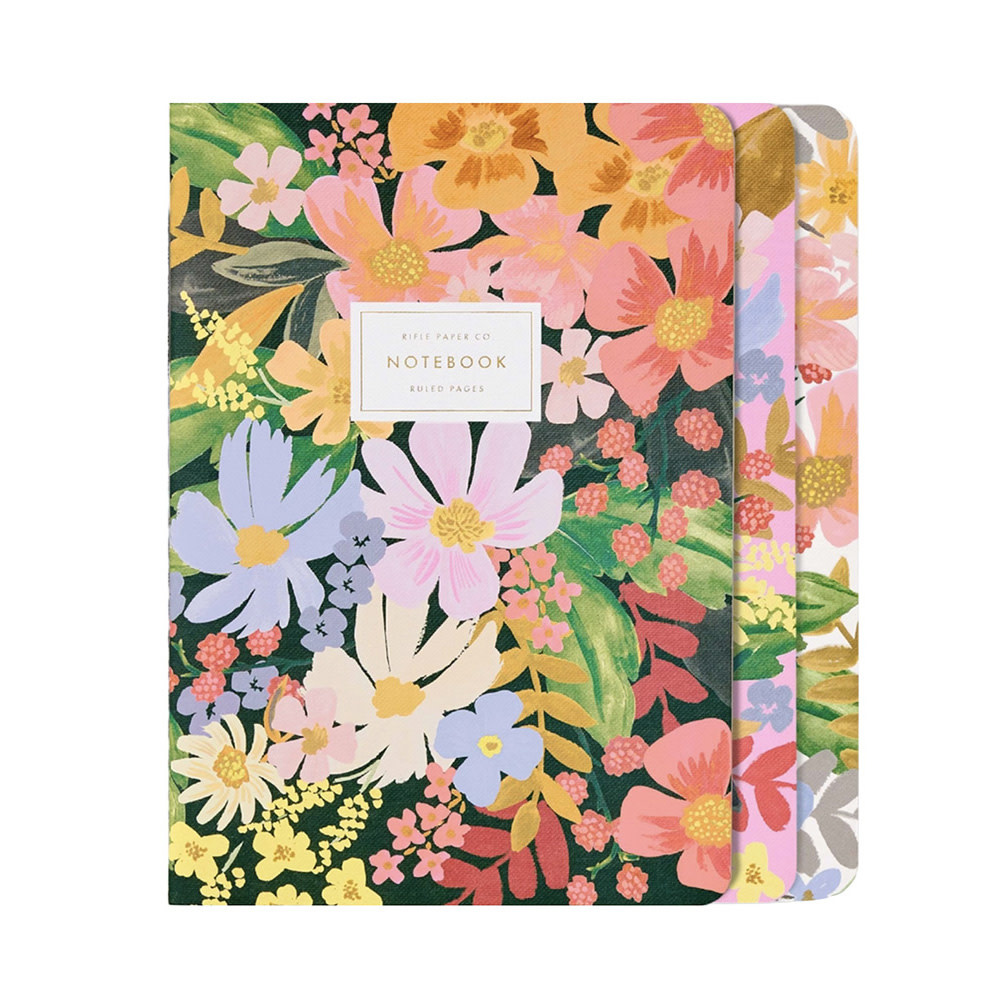 Rifle Paper Co. Stitched Notebook Set - Marguerite
