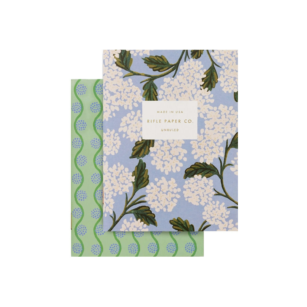 Rifle Paper Co. Pocket Notebooks - Hydrangea