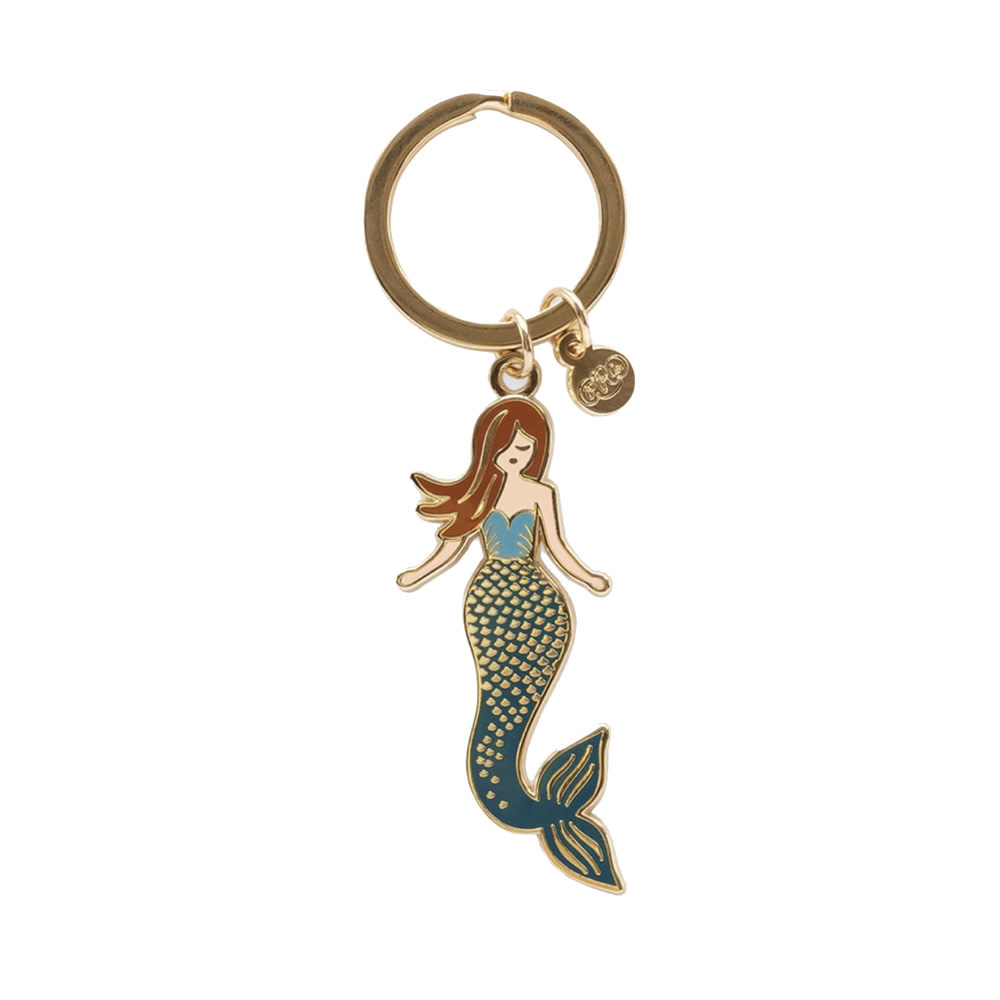 Rifle Paper Co. Enamel Keychain - Mermaid