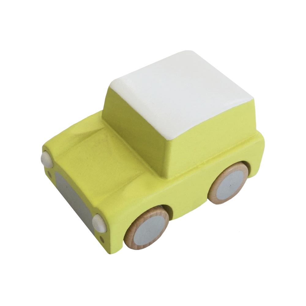 Kiko+ & gg* Kuruma Wind-Up Car - Yellow