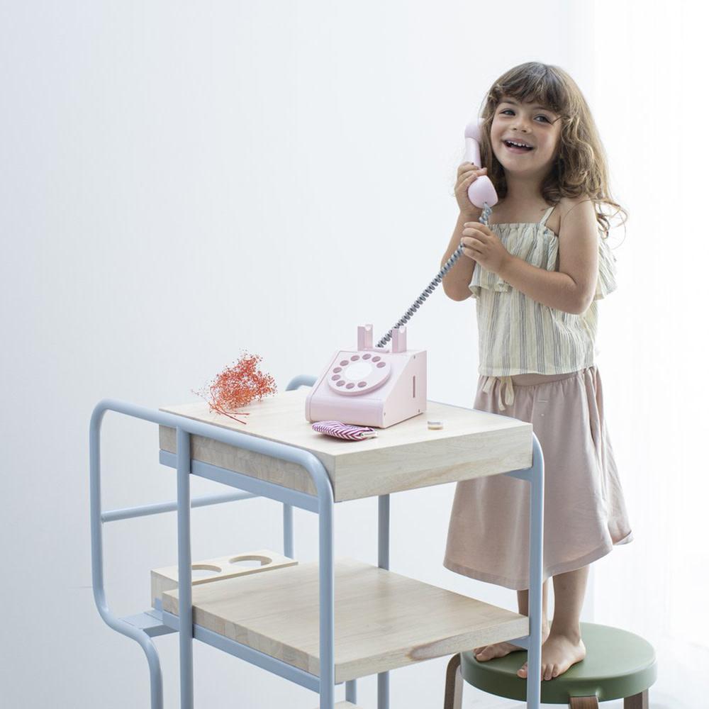 Kiko+ & gg* Toy Telephone - Pink