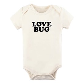 Tenth & Pine Tenth & Pine Short Sleeve Bodysuit - Love Bug - Black