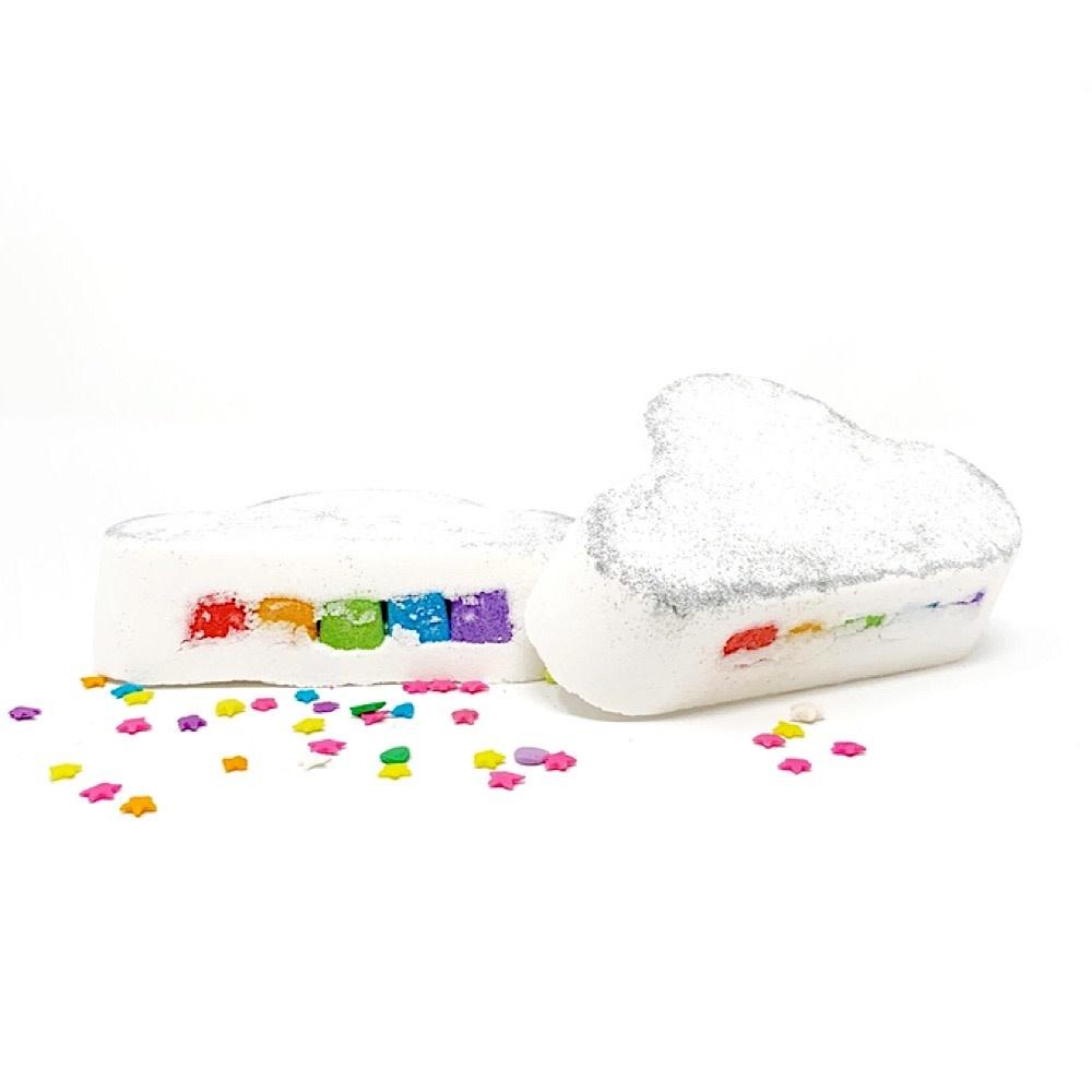 Feeling Smitten Rainbow Cloud Bath Bomb