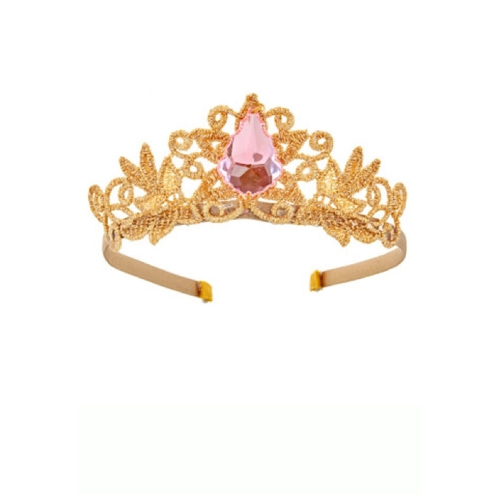 Bailey & Ava Princess Birthday Crown - Pink