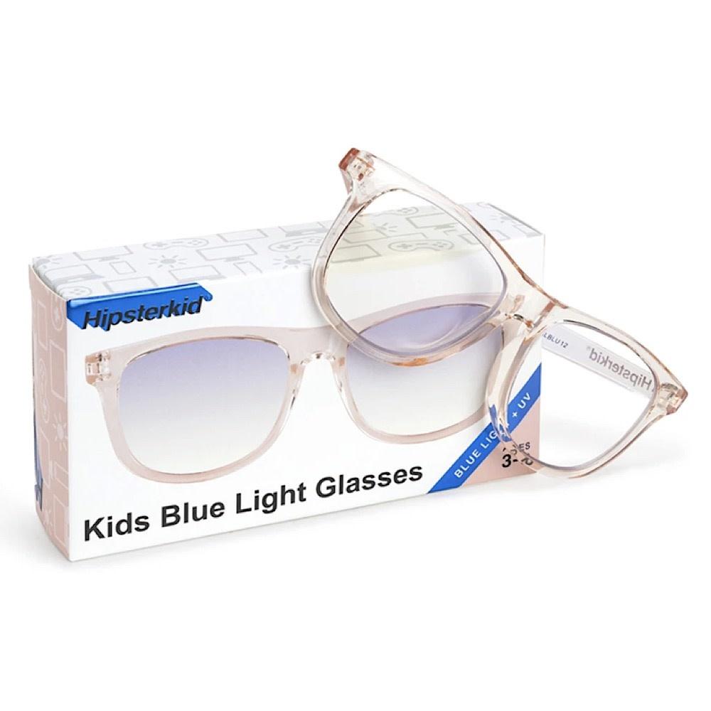 Hipsterkid Blue Light Glasses - Blush