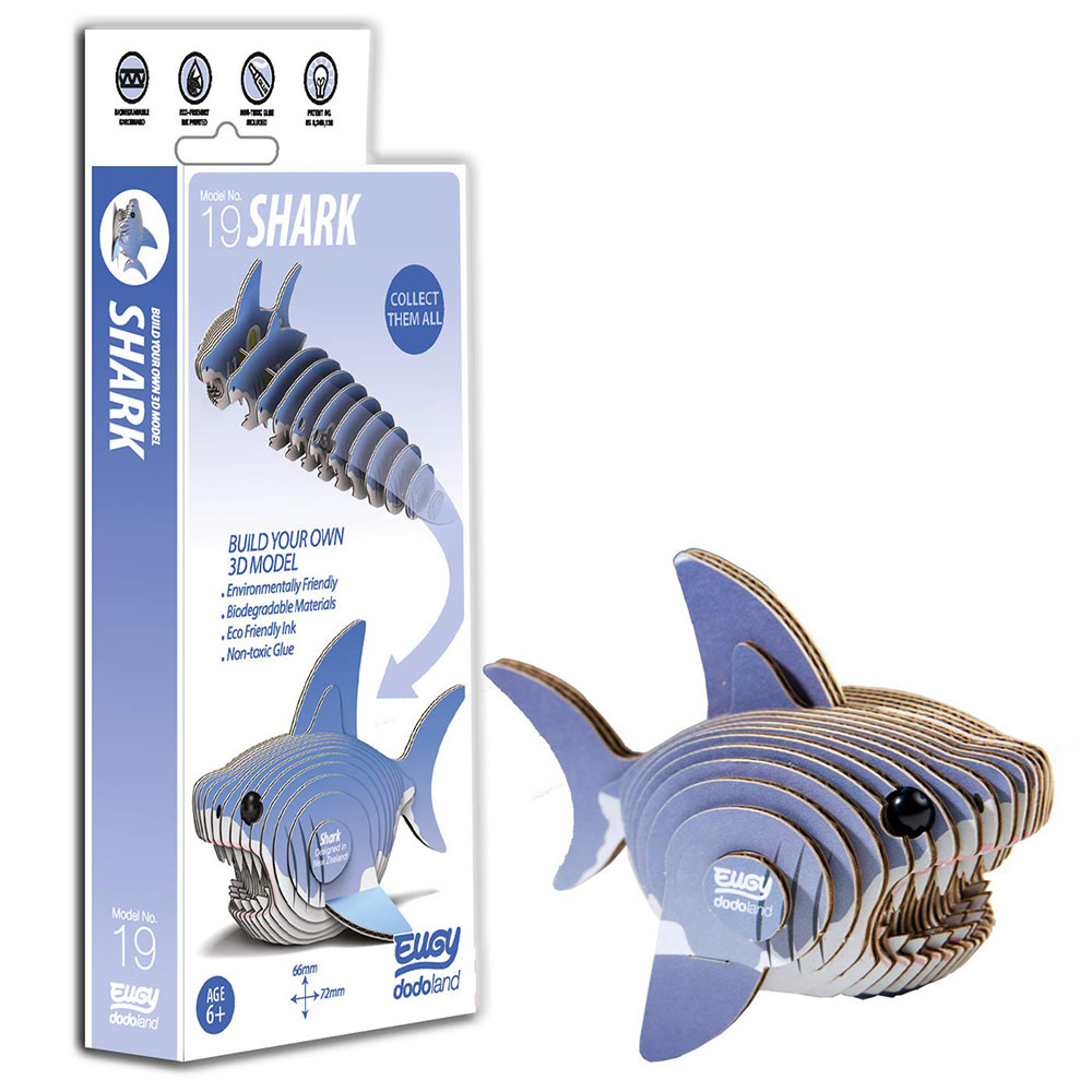 Geotoys Geotoys Shark Eugy 3D Model Kit