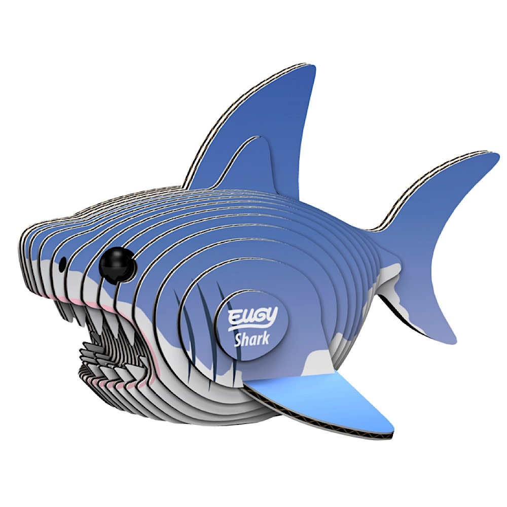 Geotoys Shark Eugy 3D Model Kit