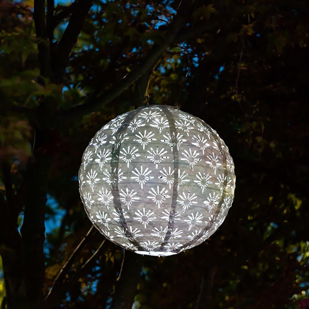 """Stella Deco Globe - White 12"""""""