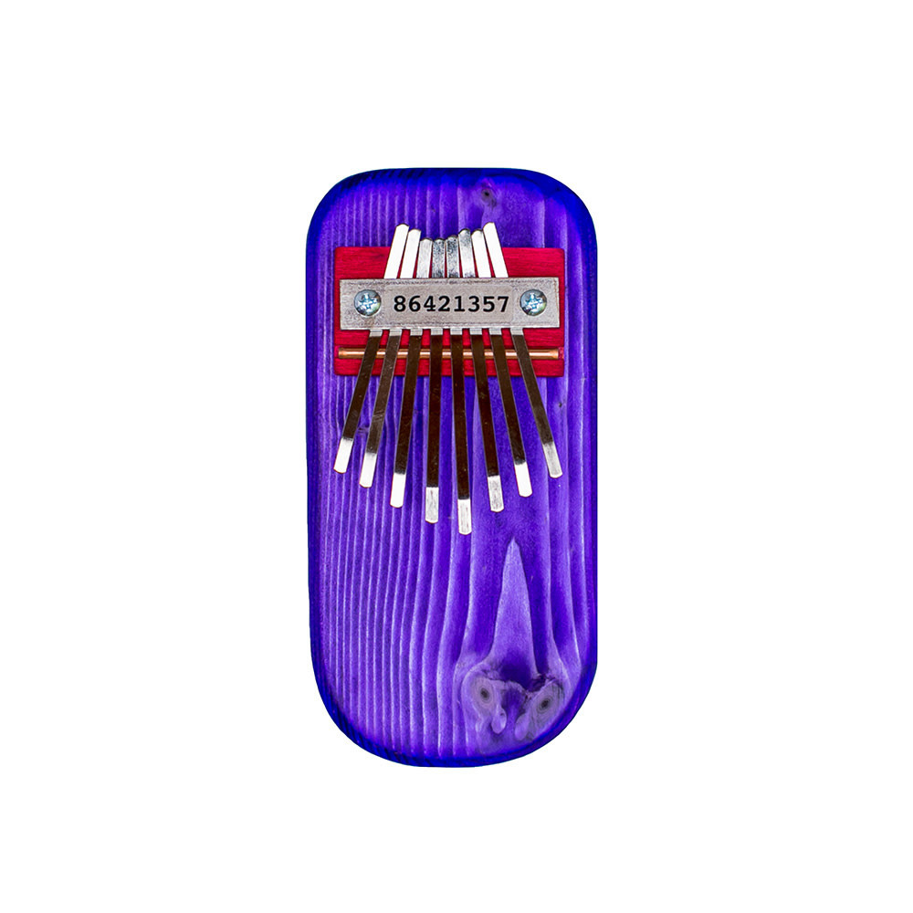 Mountain Melodies Pine Thumb Piano - Purple