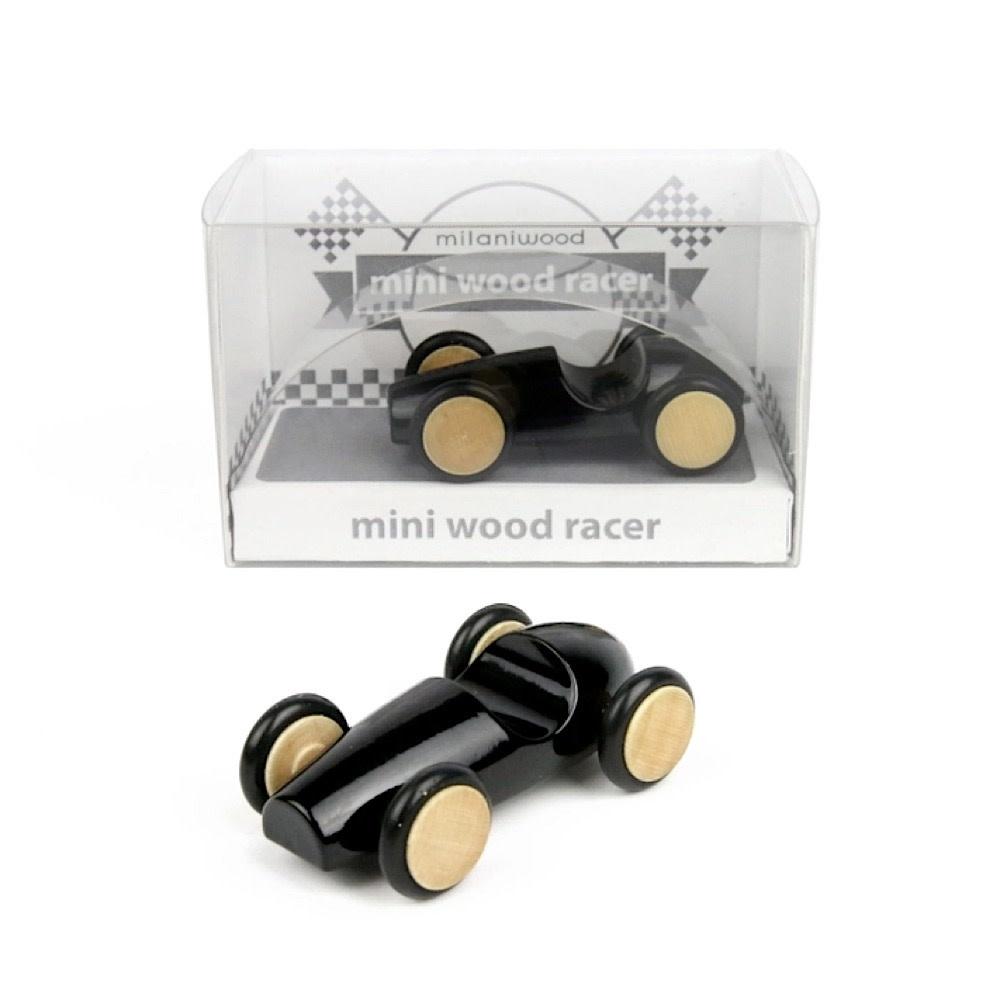 Beyond 123 Mini Wood Racer - Black