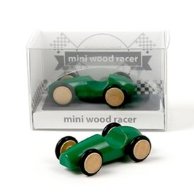 Beyond 123 Mini Wood Racer - Green