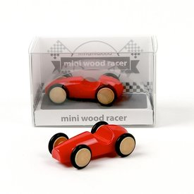 Beyond 123 Mini Wood Racer - Red