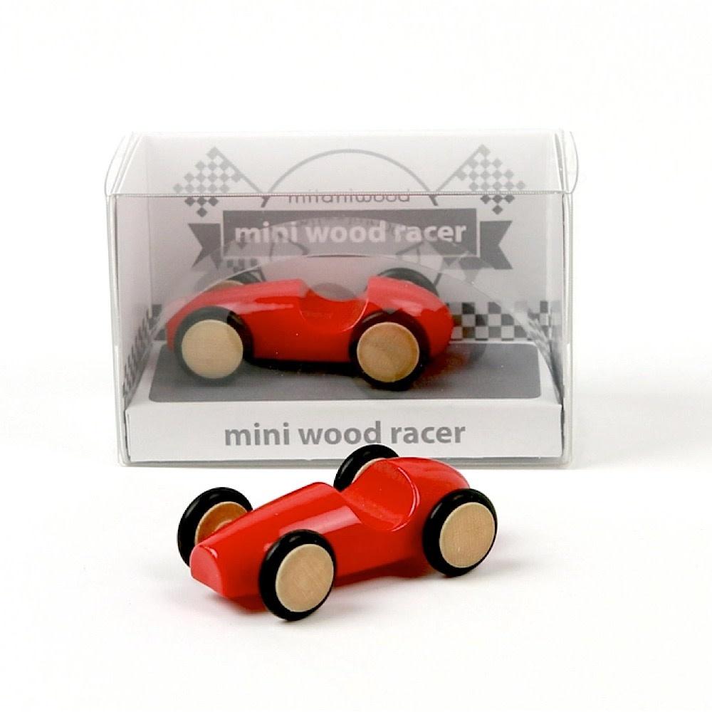 Mini Wood Racer - Red