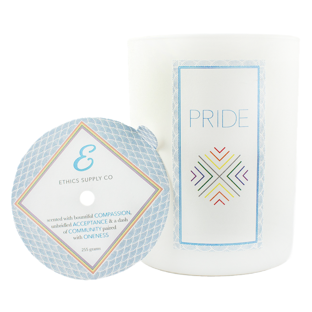 Ethics Supply Co. Candle - PRIDE - 11oz