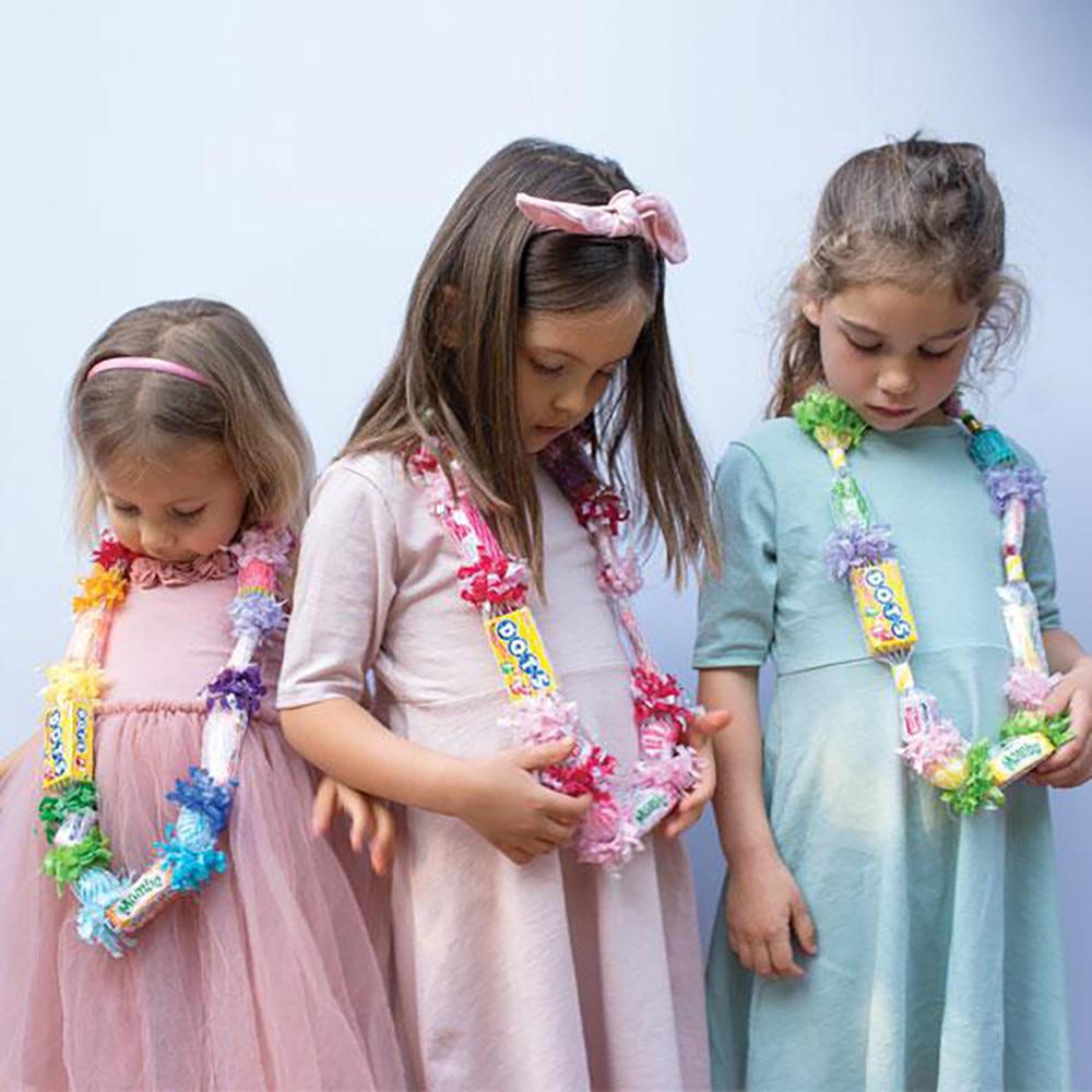Tops Malibu Candy Lei Celebrate