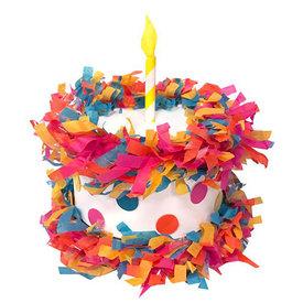 Tops Malibu Tops Malibu Mini Tabletop Pinata - Birthday Cake