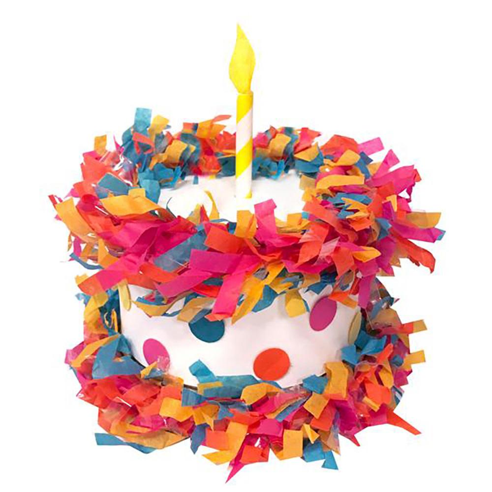 Tops Malibu Mini Tabletop Pinata - Birthday Cake