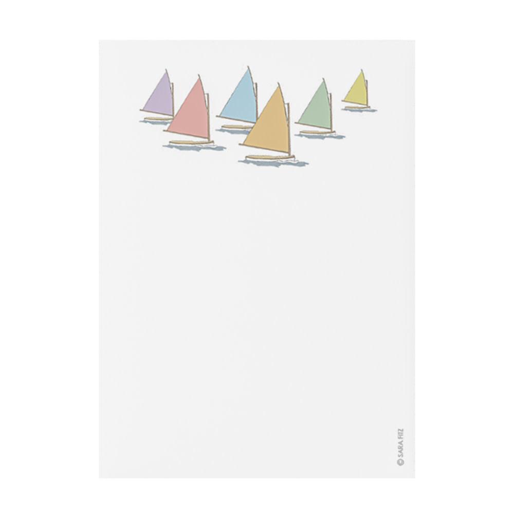 Sara Fitz Notepad - Rainbow Fleet