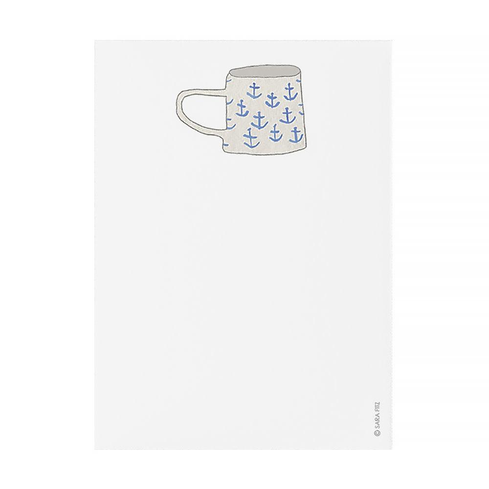 Sara Fitz Notepad - Favorite Mug