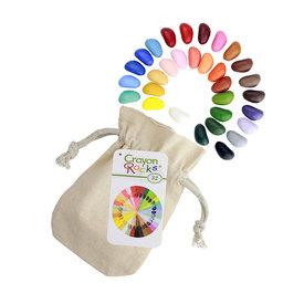Crayon Rocks Crayon Rocks - 32 Assorted Colors in Muslin Bag
