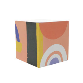 Idlewild Co. Idlewild Sticky Note Cube - Color Block