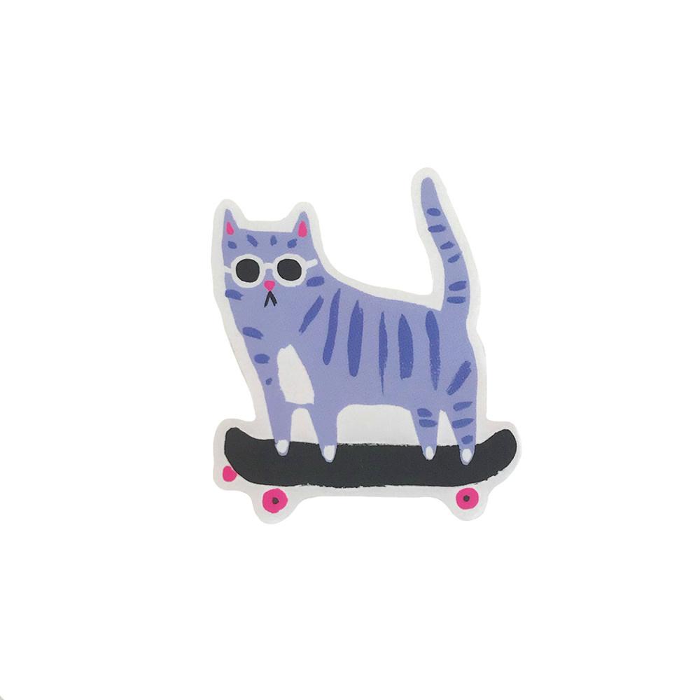 Idlewild Sticker - Skater Cat