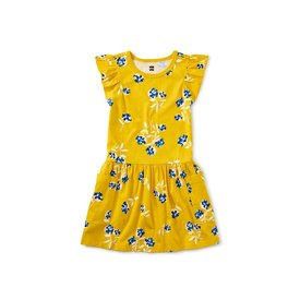 Tea Collection Tea Collection - Flutter Sleeve Pocket Dress - Flower