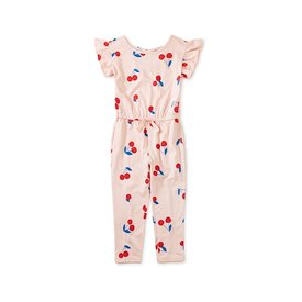 Tea Collection Tea Collection - Scoop Back Ruffle Jumpsuit - Giant Ginjas