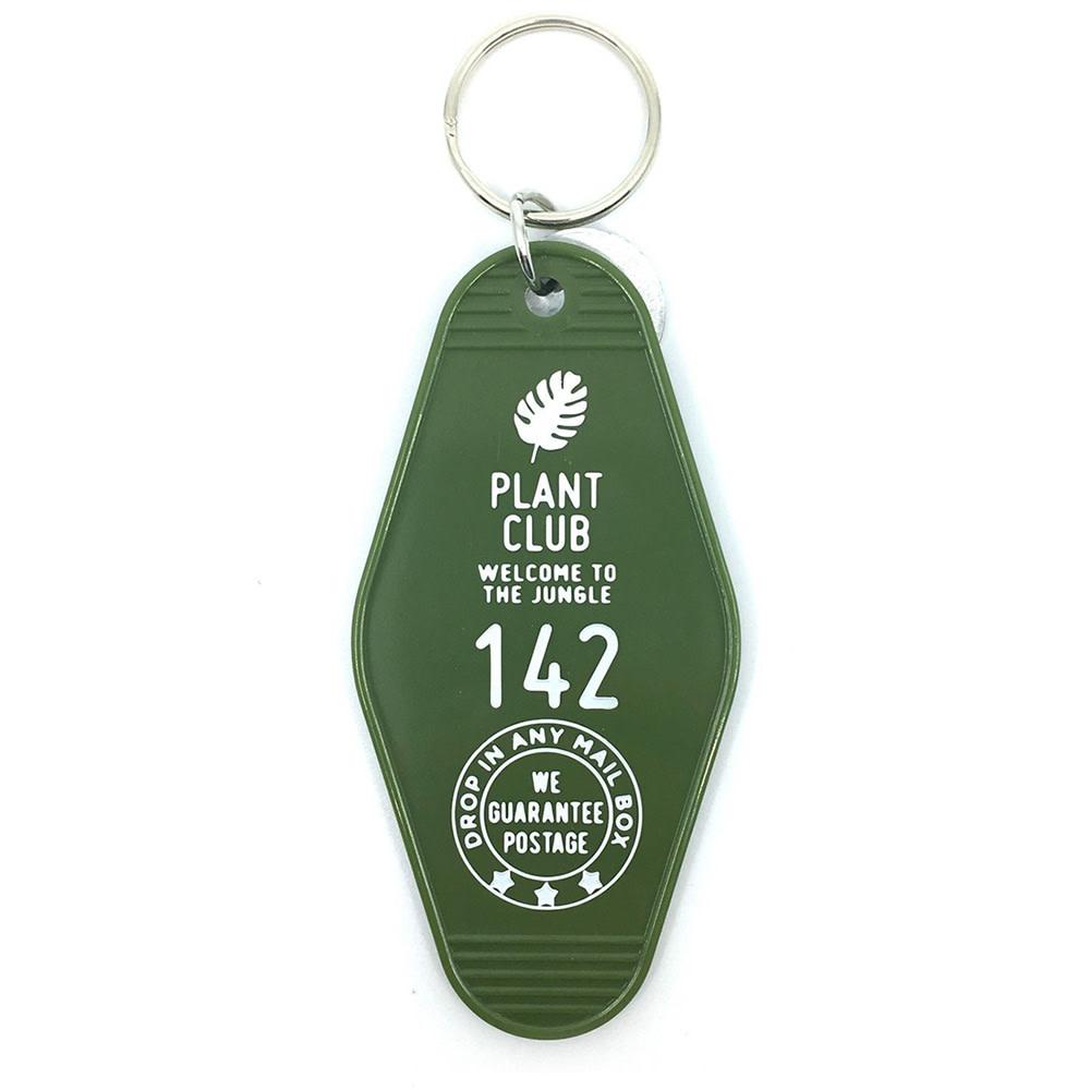 Three Potato Four Key Tag - Plant Club - Green