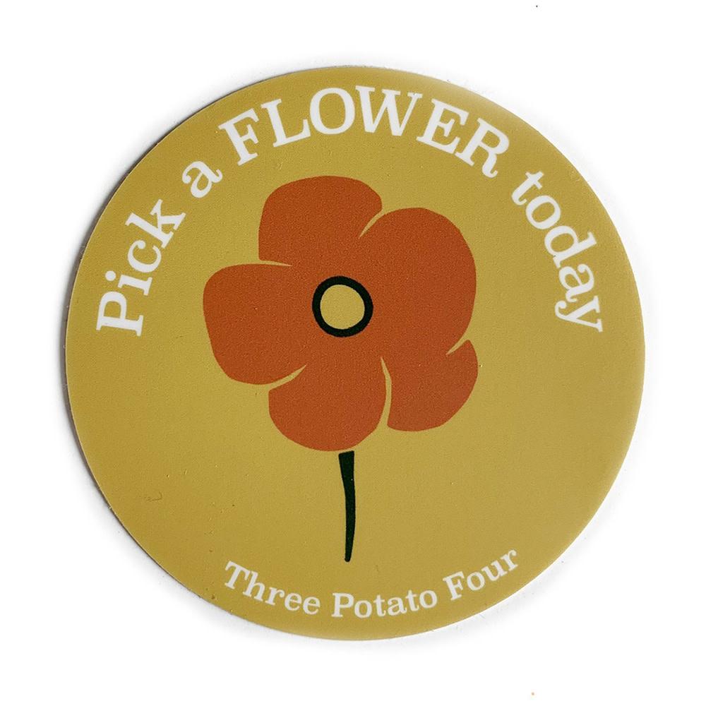 Three Potato Four Sticker - Pick A Flower