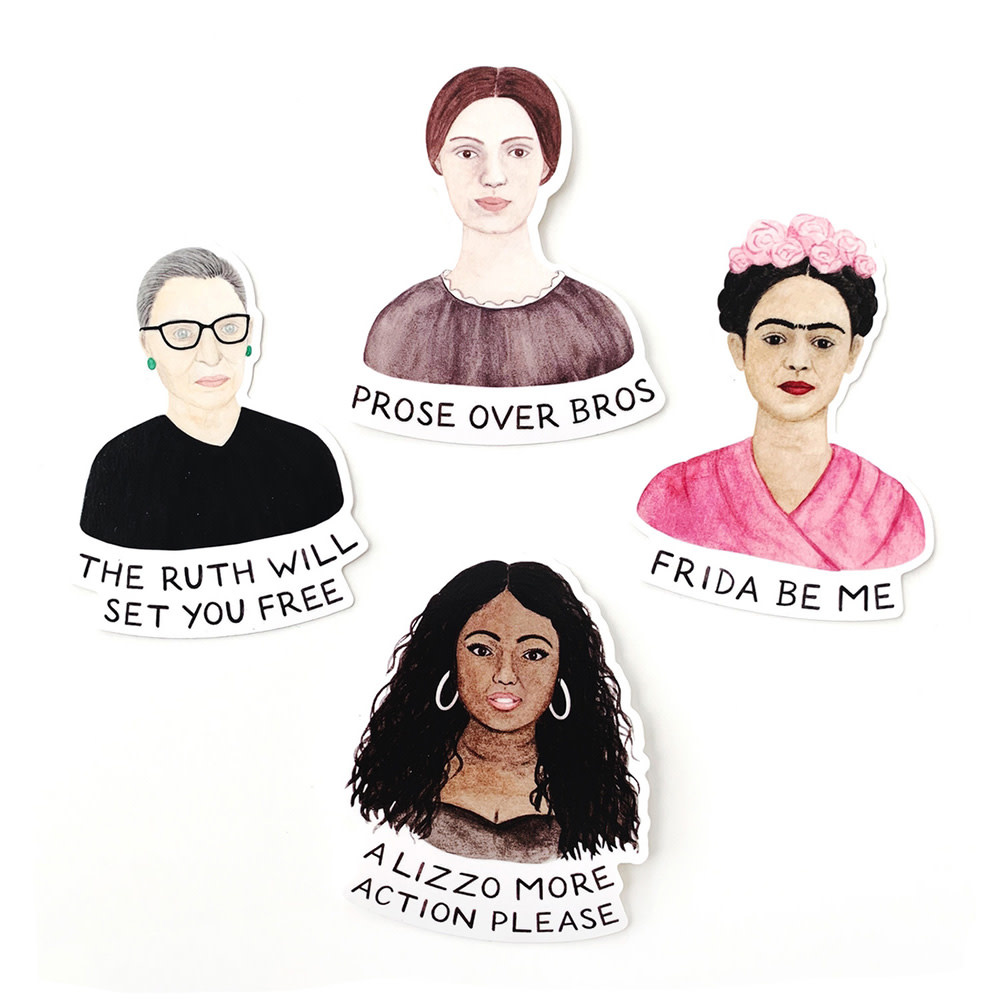 Amy Zhang - Leading Ladies Sticker Set