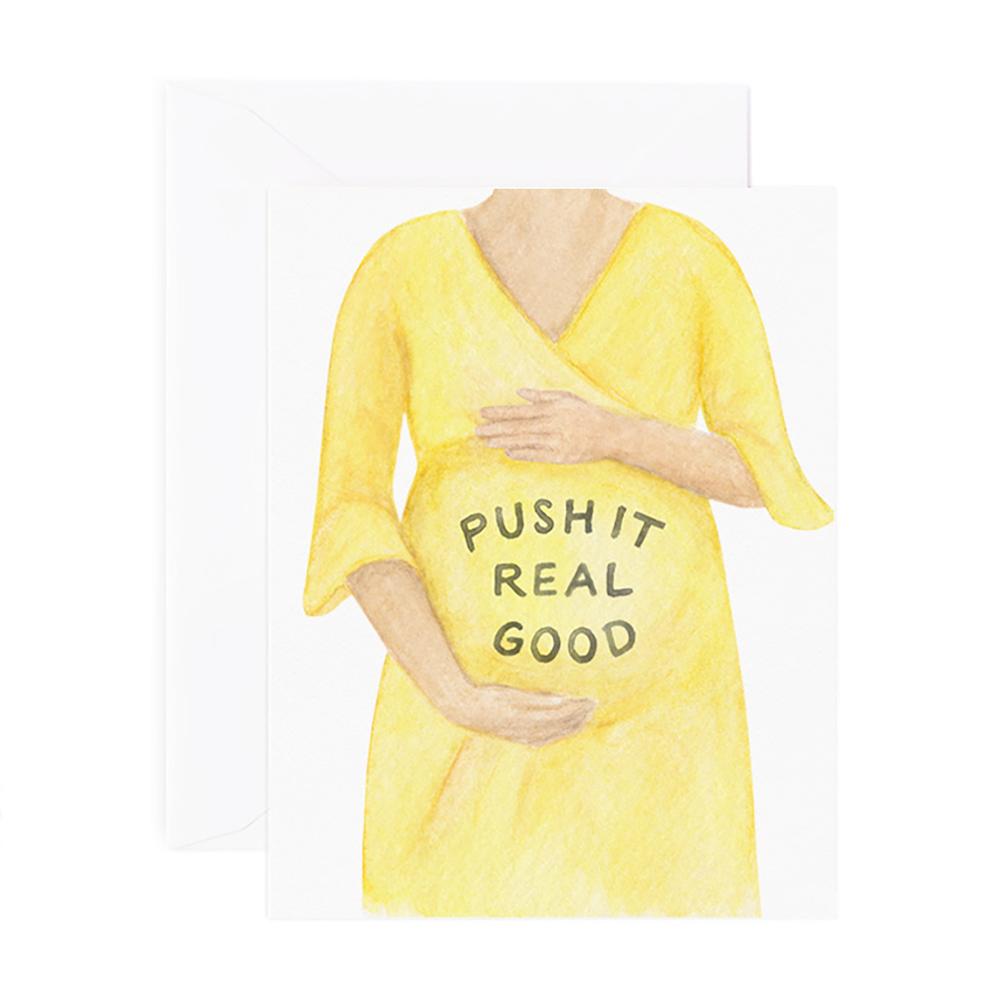 Amy Zhang Card - Push It