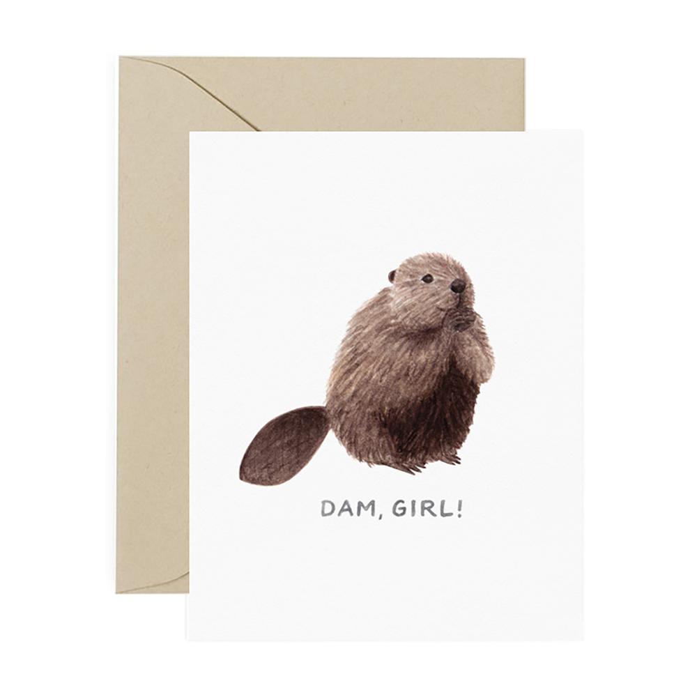 Amy Zhang Card - Dam Girl