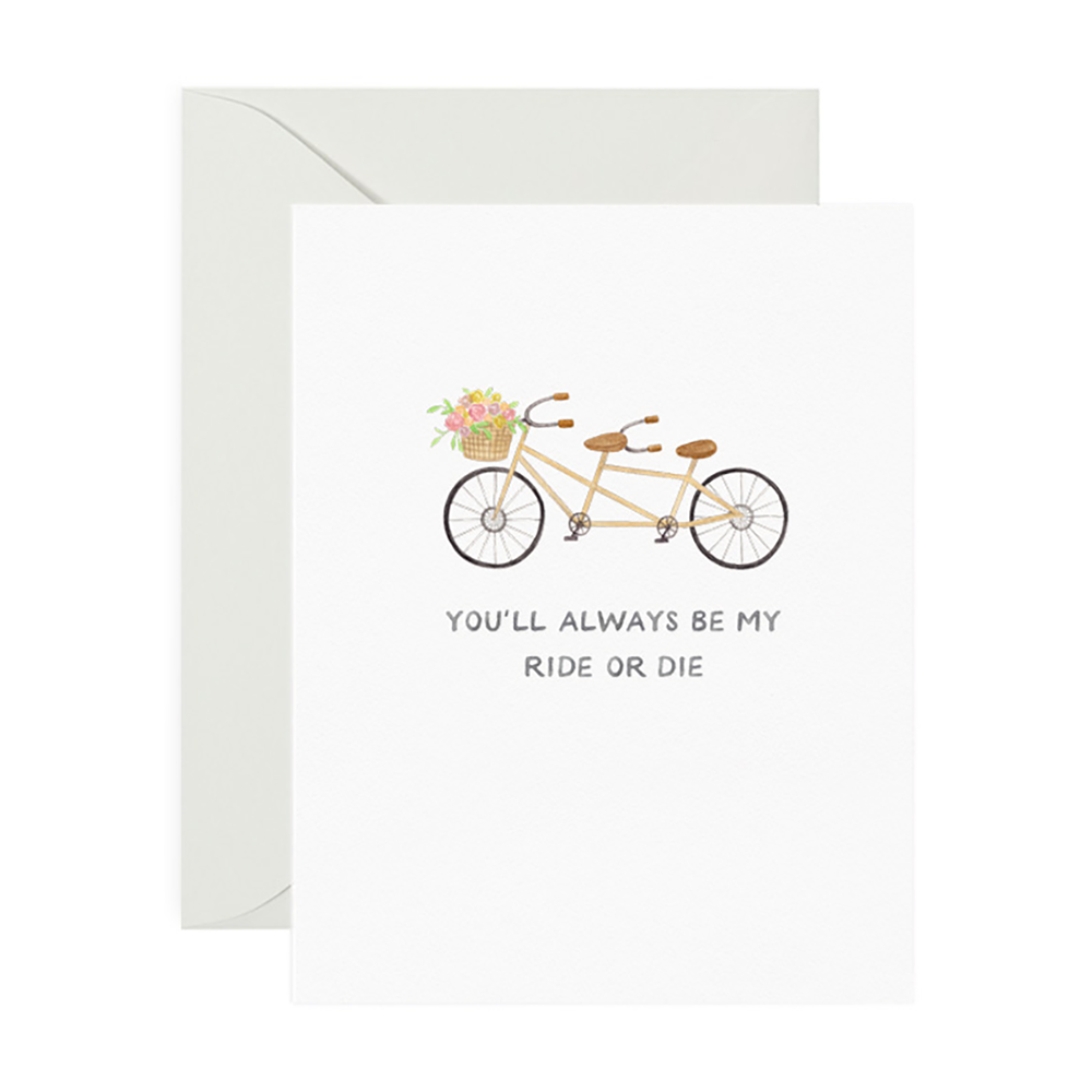 Amy Zhang Card - Ride or Die
