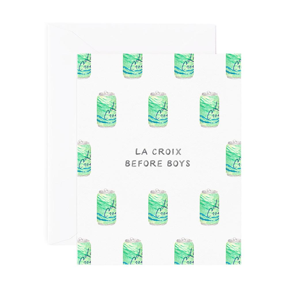 Amy Zhang Card - La Croix Before Boys
