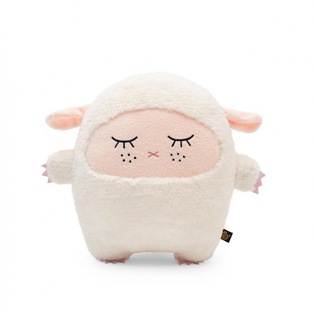 Noodoll Cushion - Ricemere Sheep - Pink Face