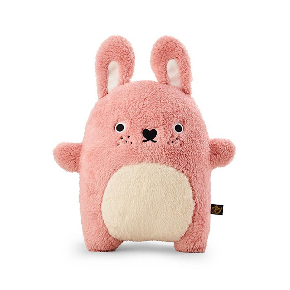 Noodoll Cushion - Ricefluff Rabbit - Pink