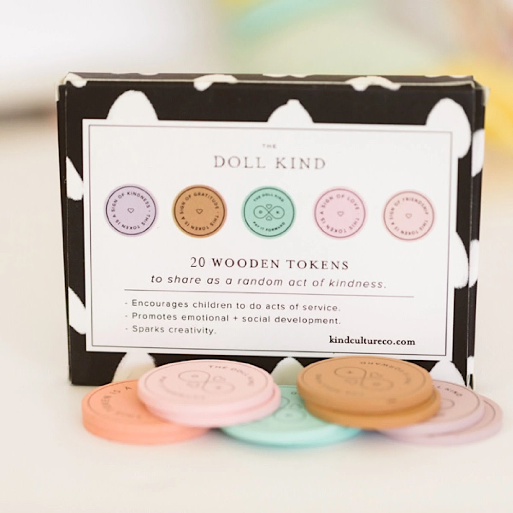 Kind Culture Co. Token Kindness Kit - Set of 20