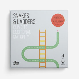 The School of Life The School of Life - Snakes and Ladders Board Game