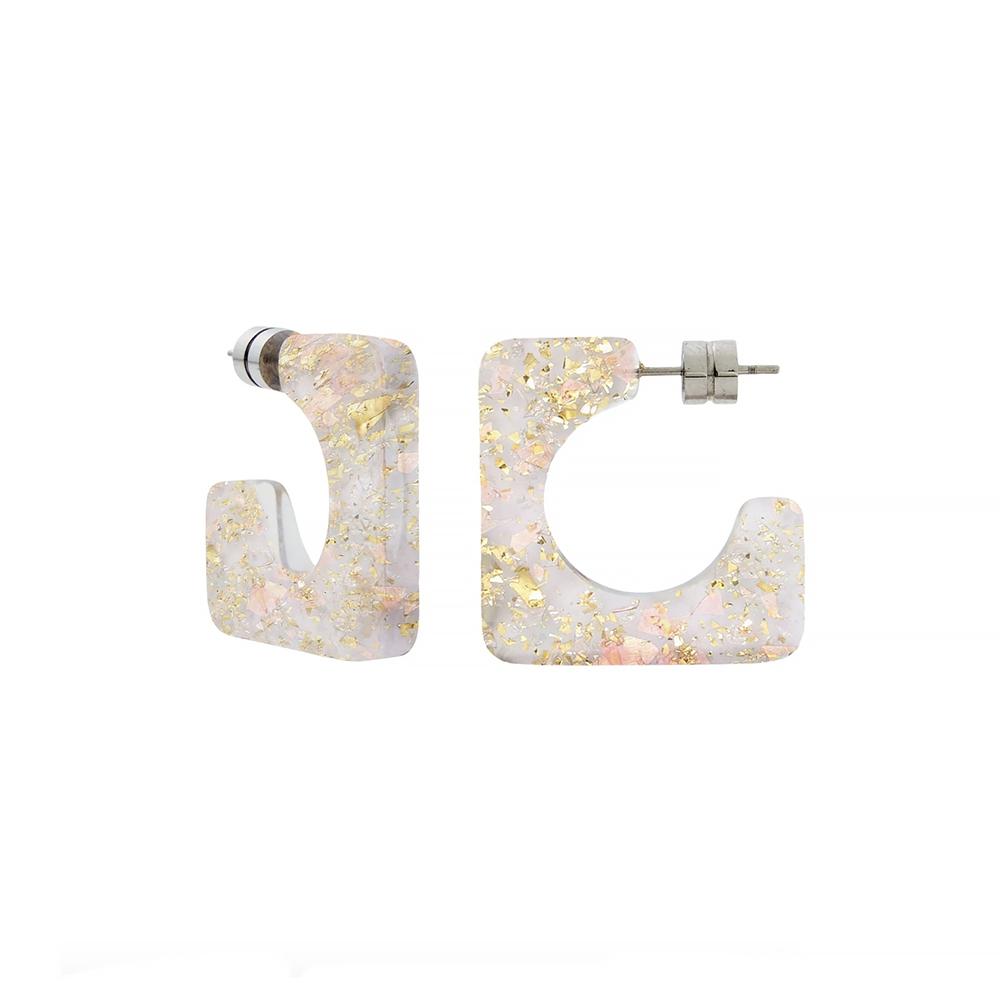 Machete - Atlas Hoop Earrings - Glitter